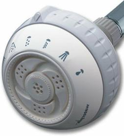 Waterpik SM-621 Original 6-Mode Massage Showerhead, White