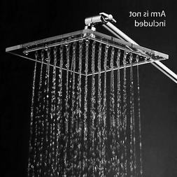 HotelSpa 1676 Square Stainless Steel 8 Inch Shower Head with