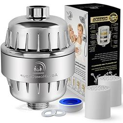 AquaHomeGroup Shower Water Filter Multi-Stage - 2 Cartridge