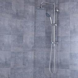"AFA Stainless 8"" Rain Shower Head and Hand Shower Combo"