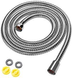 Klabb Stainless Steel Shower Hose, 70 Inches Long Chrome Han