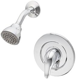 Moen TL473 Single Handle Shower Trim Kit with Metal Lever, C