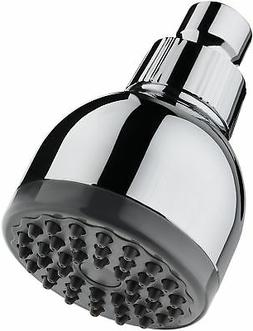 TurboSpa 3 Inch High Pressure Shower Head w/Flow Restrictor