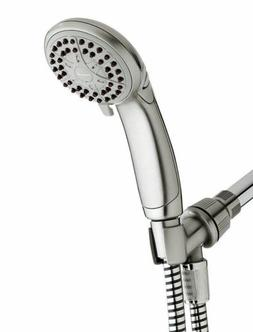Waterpik VBE-459 EcoFlow 3-Setting Handshower in Brushed Nic