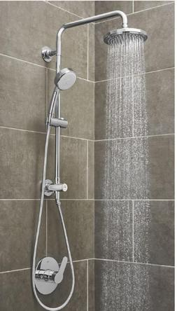 Vitalio 5-spray 7 in. Dual Shower Head and Handheld Shower H