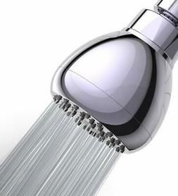 WASSA High Pressure Shower Head - 3? Anti-clog Anti-leak Fix
