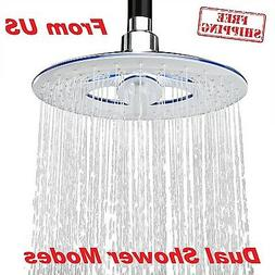 Waterfall Shower Head Sprayer Rain Overhead Bathroom Body Ma
